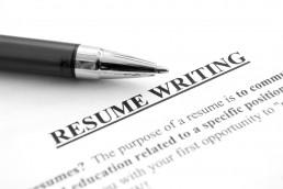 Resume writing for IT skills.